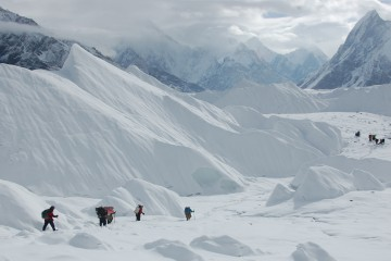 A beautiful, view , of , baltoro peak