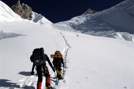 K4 , Gasherbrum II Pakistan summit