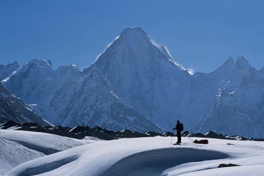 Skiing Gasherbrum 4 experience with Karakoram Adventure Holidays tours and Expeditions