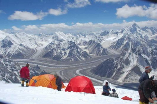 Gasherbrum expedition Camp karakoram adventure holidays