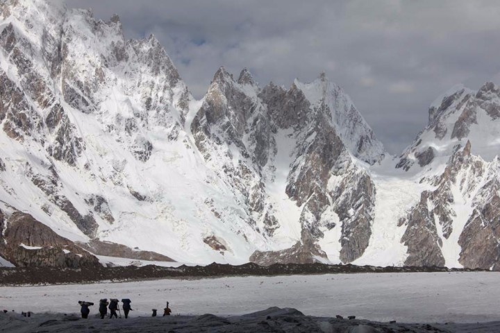 glacier trek of biafo