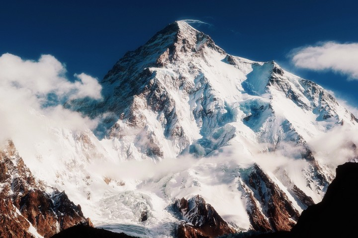 K2 peak in karakoram range