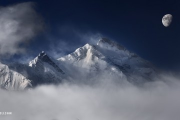 cloudy , weather , on rakaposhi